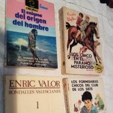 Libros antiguos: LOTE: 4 BONITOS LIBROS DE NOVELA, VARIOS AUTORES. Lote 155690978