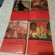 Libros antiguos: LOTE: 4 BONITOS LIBROS DE NOVELA, VARIOS AUTORES . Lote 155693398