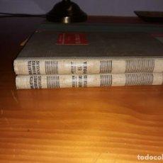 Libros antiguos: EL PIRATA DE WALTER SCOTT 1935 Y AVENTURAS DE PICWICK DE CHARLES DICKENS 1936. Lote 158143122