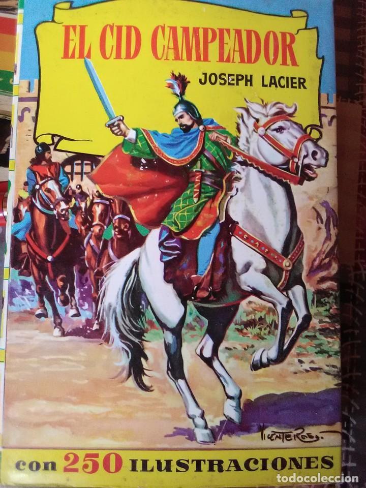 EL CID CAMPEADOR (Libros Antiguos, Raros y Curiosos - Literatura Infantil y Juvenil - Novela)