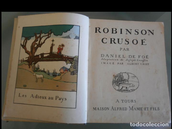 ROBINSON CRUSOÉ. DANIEL DE FOÉ (Libros Antiguos, Raros y Curiosos - Literatura Infantil y Juvenil - Novela)