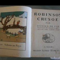 Libros antiguos: ROBINSON CRUSOÉ. DANIEL DE FOÉ. Lote 158897110
