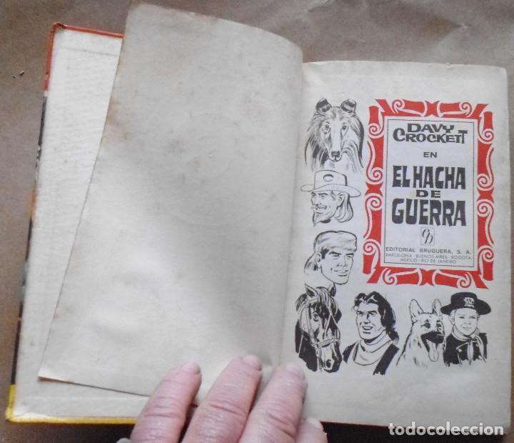 Libros antiguos: LOTE Nº 21 DAVY CROCHETT EL HACHA DE GUERRA N 27 EDICIONES BRUGUERA - Foto 2 - 160048898