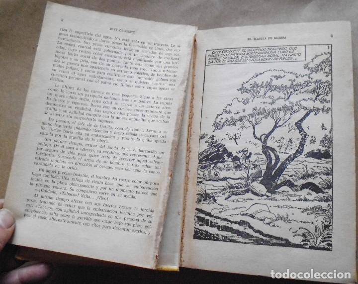 Libros antiguos: LOTE Nº 21 DAVY CROCHETT EL HACHA DE GUERRA N 27 EDICIONES BRUGUERA - Foto 3 - 160048898