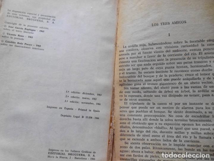 Libros antiguos: LOTE Nº 21 DAVY CROCHETT EL HACHA DE GUERRA N 27 EDICIONES BRUGUERA - Foto 6 - 160048898