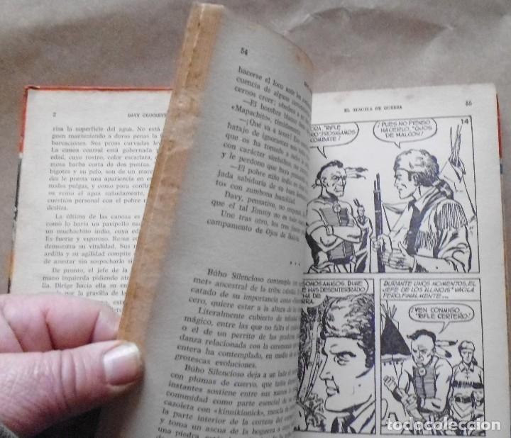 Libros antiguos: LOTE Nº 21 DAVY CROCHETT EL HACHA DE GUERRA N 27 EDICIONES BRUGUERA - Foto 7 - 160048898