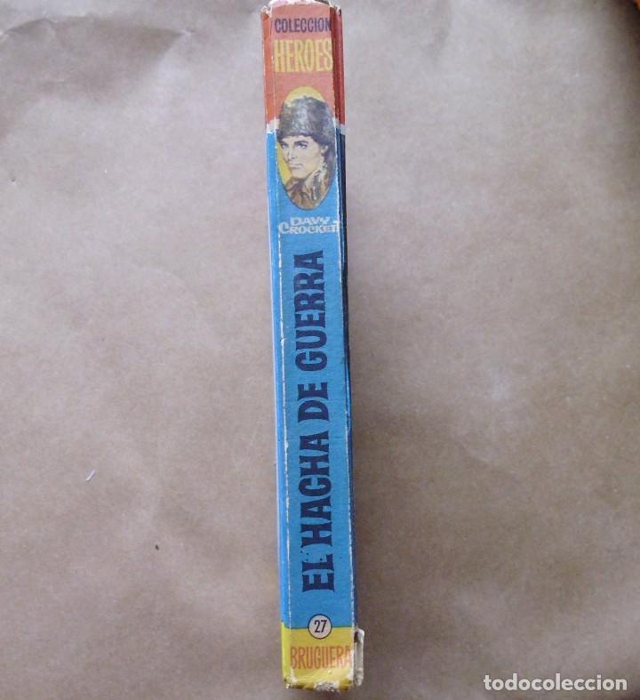 Libros antiguos: LOTE Nº 21 DAVY CROCHETT EL HACHA DE GUERRA N 27 EDICIONES BRUGUERA - Foto 8 - 160048898
