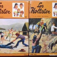 Libros antiguos: LOTE Nº25 LOS HOLLISTER Nº 10 Y 24 VAN AL OESTE Y LA CUEVA MISTERIOSA . Lote 160049642