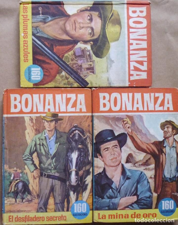 LOTE Nº 20 BONANZA 3 LIBROS Nº 34-42 Y 62 EDICIONES BRUGERA (Libros Antiguos, Raros y Curiosos - Literatura Infantil y Juvenil - Novela)