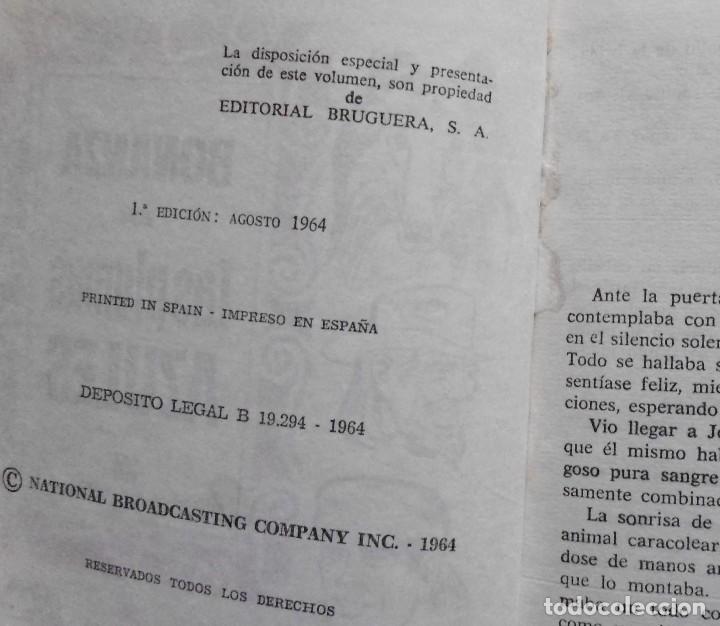 Libros antiguos: LOTE Nº 20 BONANZA 3 LIBROS Nº 34-42 Y 62 EDICIONES BRUGERA - Foto 2 - 160052114