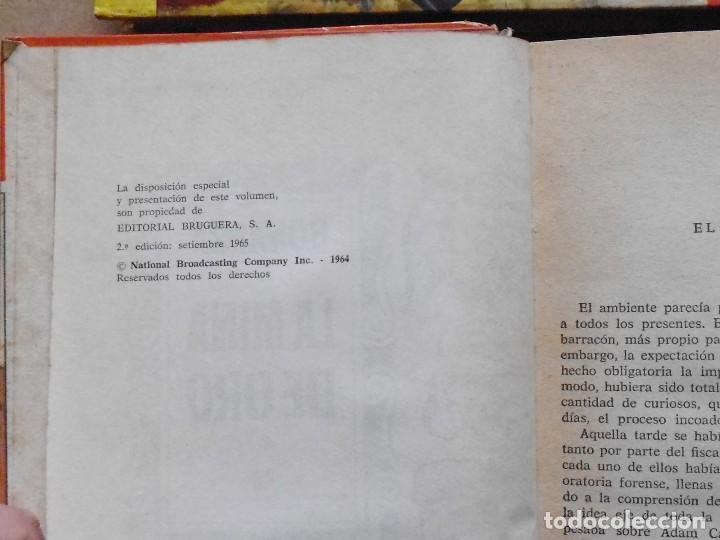 Libros antiguos: LOTE Nº 20 BONANZA 3 LIBROS Nº 34-42 Y 62 EDICIONES BRUGERA - Foto 5 - 160052114