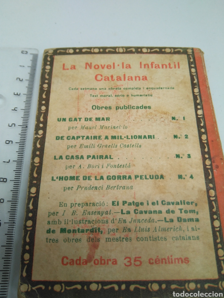 Libros antiguos: Catalana novel la infantil - Foto 2 - 160568557
