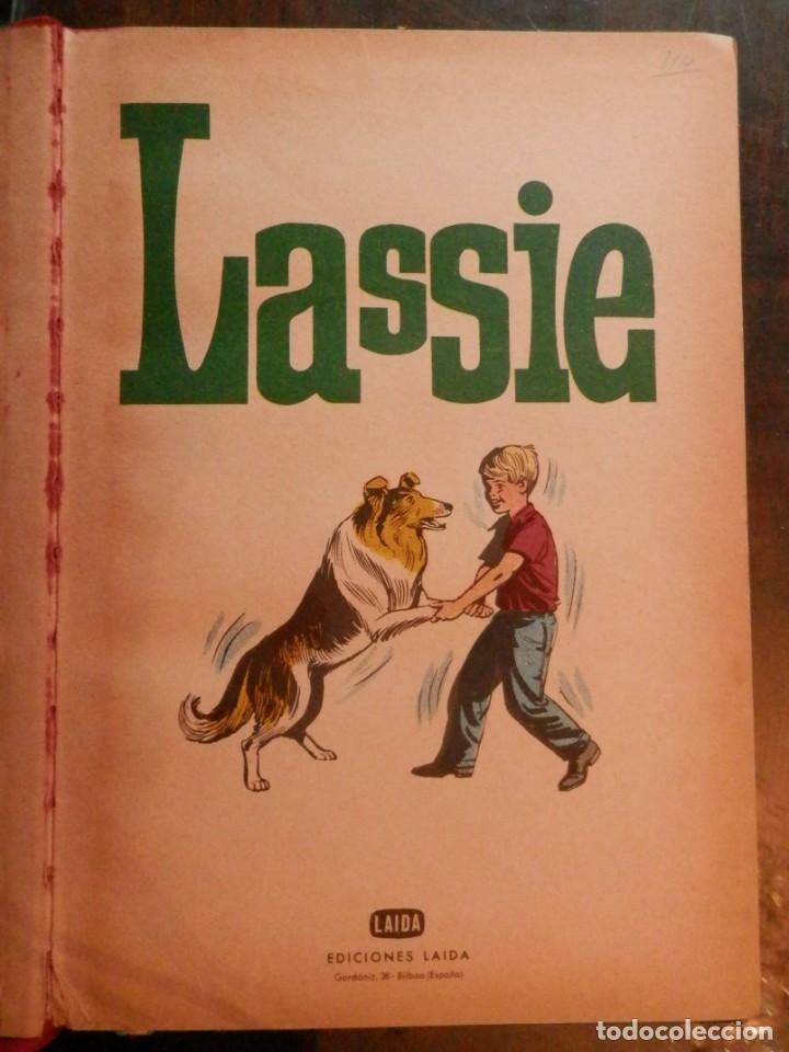 Libros antiguos: LASSIE EDICIONES LAIDA 1967 - Foto 6 - 160700686