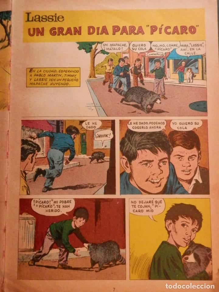 Libros antiguos: LASSIE EDICIONES LAIDA 1967 - Foto 7 - 160700686