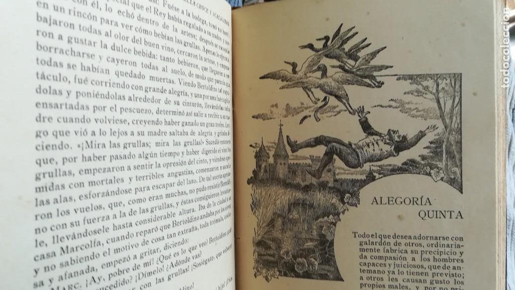 Libros antiguos: BERTOLDO, BERTOLDINO Y CACASENO FF, SIGLO XIX - Foto 4 - 161024126