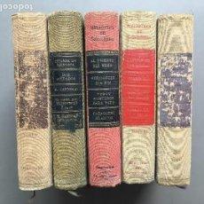 Libros antiguos: 5 TOMOS BIBLIOTECA DE SELECCIONES DEL READER'S DIGEST, S.A. 1957-1959. Lote 161976426