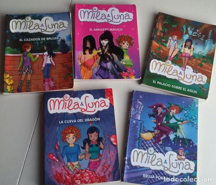 LOTE 5 LIBROS MILA & LUNA. MONDADORI (Libros Antiguos, Raros y Curiosos - Literatura Infantil y Juvenil - Novela)