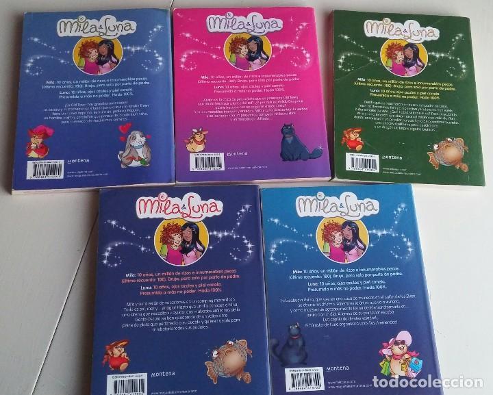 Libros antiguos: Lote 5 libros Mila & Luna. Mondadori - Foto 2 - 164638998