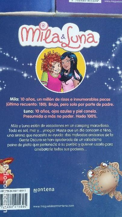 Libros antiguos: Lote 5 libros Mila & Luna. Mondadori - Foto 7 - 164638998