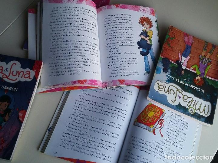 Libros antiguos: Lote 5 libros Mila & Luna. Mondadori - Foto 8 - 164638998