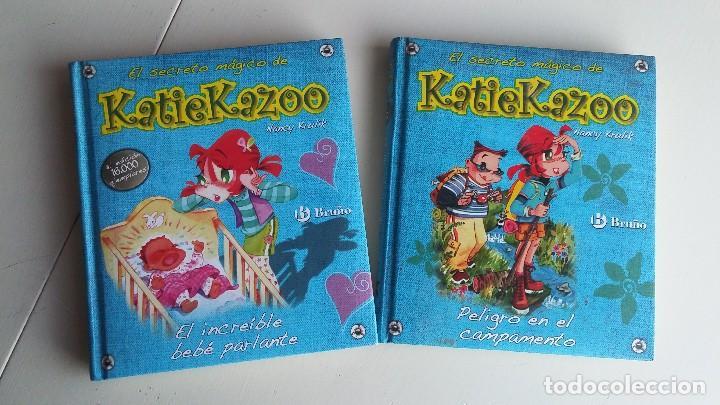 2 LIBROS EL SECRETO MÁGICO DE KATIE KAZOO. NANCY KRULIK (Libros Antiguos, Raros y Curiosos - Literatura Infantil y Juvenil - Novela)