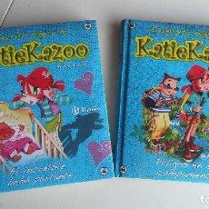 Libros antiguos: 2 LIBROS EL SECRETO MÁGICO DE KATIE KAZOO. NANCY KRULIK. Lote 164813366