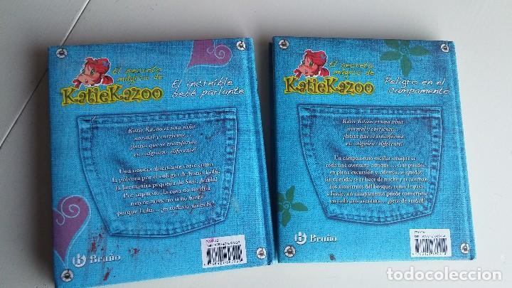 Libros antiguos: 2 LIBROS EL SECRETO MÁGICO DE KATIE KAZOO. NANCY KRULIK - Foto 2 - 164813366