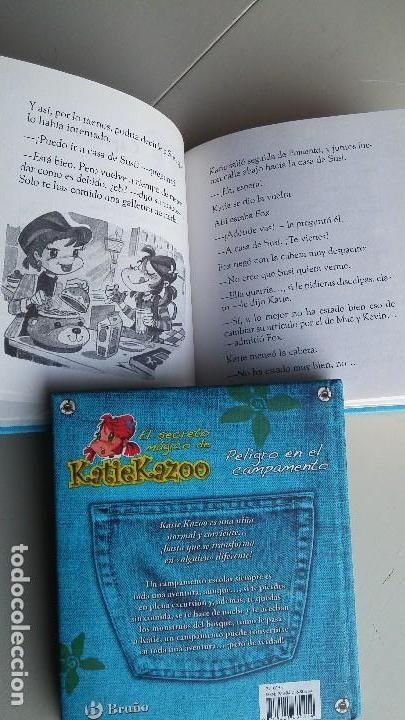 Libros antiguos: 2 LIBROS EL SECRETO MÁGICO DE KATIE KAZOO. NANCY KRULIK - Foto 3 - 164813366