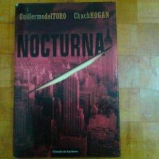 Libros antiguos: NOVELA DE GUILLERMO DEL TORO. Lote 164730486