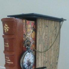 Libros antiguos: ¡¡ ÚNICO !! ALICIA EN EL PAÍS DE LAS MARAVILLAS Y A TRAVÉS DEL ESPEJO / LEWIS CARROLL. ARTESANAL.. Lote 165244818