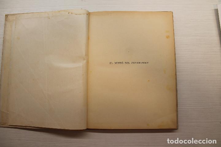 Libros antiguos: EL MINYÓ DEL COP DE PUNY, ILUSTRADO POR OPISSO, CLOVIS EIMERIC, ED. JOVENTUT, 1934, PRIMERA EDICIÓN - Foto 3 - 165744298
