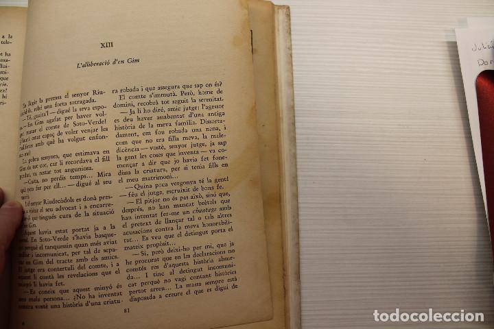 Libros antiguos: EL MINYÓ DEL COP DE PUNY, ILUSTRADO POR OPISSO, CLOVIS EIMERIC, ED. JOVENTUT, 1934, PRIMERA EDICIÓN - Foto 7 - 165744298
