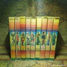 Libros antiguos: LOTE DE 9 Nº´S. COLECCIÓN IRIS EDITORIAL BRUGUERA 1ª EDICIONES DE 1959/60/61. . Lote 166442350