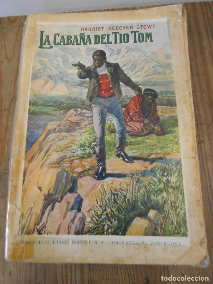 LA CABAÑA DEL TÍO TOM, HARRIET BEECHER 1935 (Libros Antiguos, Raros y Curiosos - Literatura Infantil y Juvenil - Novela)