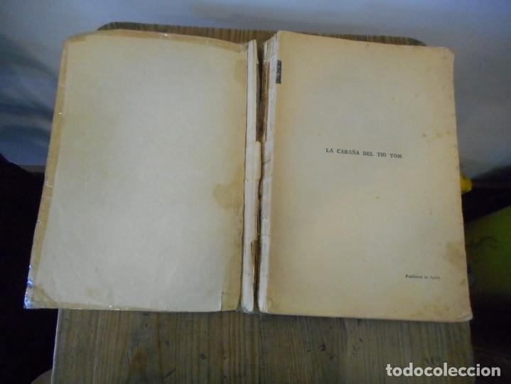 Libros antiguos: La Cabaña del Tío Tom, Harriet Beecher 1935 - Foto 3 - 166596562