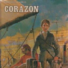 Libros antiguos: CORAZON, EDMONDO DE AMICIS 1977. Lote 166698594