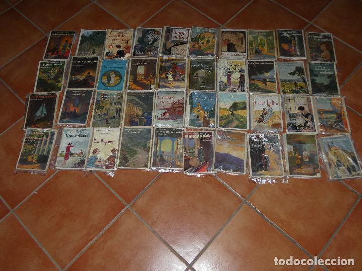 40 DE LAS 50 NOVELAS DE J M FOLCH I TORRES EN BIBLIOTECA GENTIL BARCELONA AÑOS 20 (Libros Antiguos, Raros y Curiosos - Literatura Infantil y Juvenil - Novela)