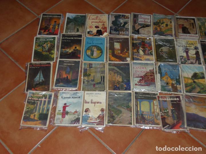 Libros antiguos: 40 de las 50 novelas de J M Folch i Torres en Biblioteca Gentil Barcelona años 20 - Foto 2 - 167690548