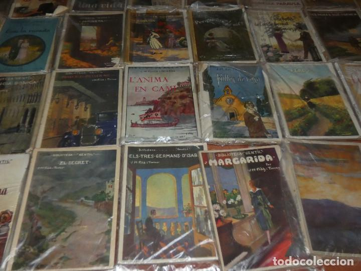 Libros antiguos: 40 de las 50 novelas de J M Folch i Torres en Biblioteca Gentil Barcelona años 20 - Foto 5 - 167690548