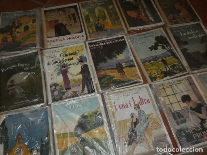 Libros antiguos: 40 de las 50 novelas de J M Folch i Torres en Biblioteca Gentil Barcelona años 20 - Foto 6 - 167690548