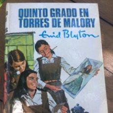 Libros antiguos: QUINTO GRADO EN TORRES DE MALORY. Lote 168171260