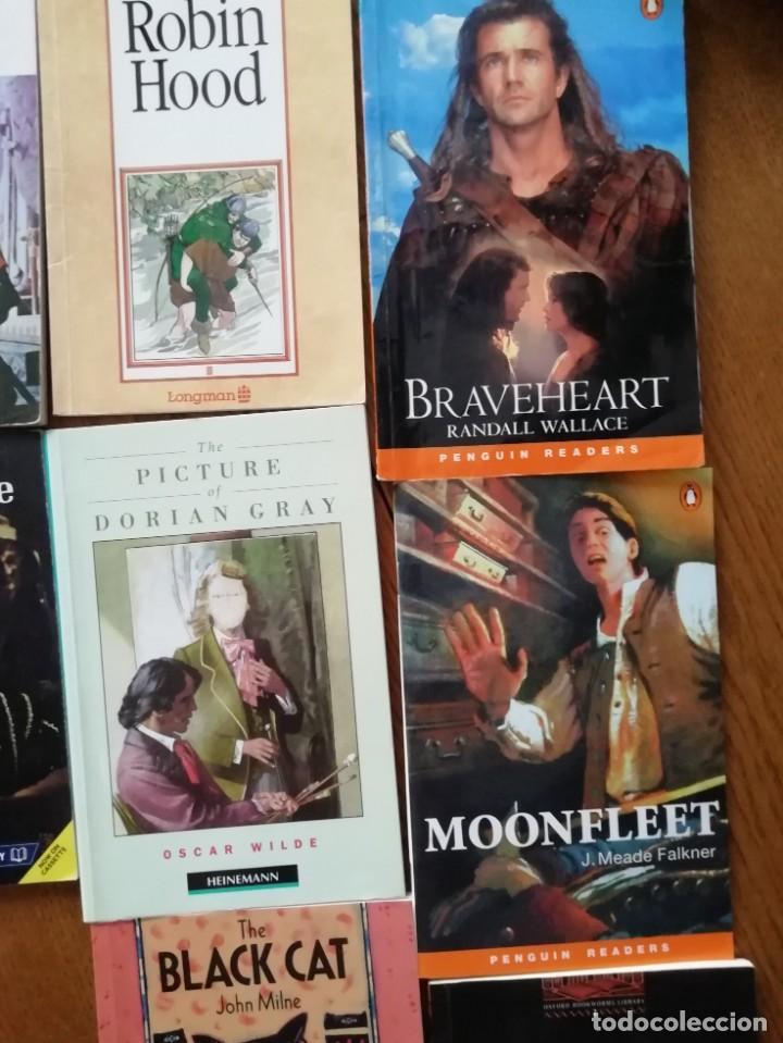 LOTE LIBROS EN INGLÉS (Libros Antiguos, Raros y Curiosos - Literatura Infantil y Juvenil - Novela)