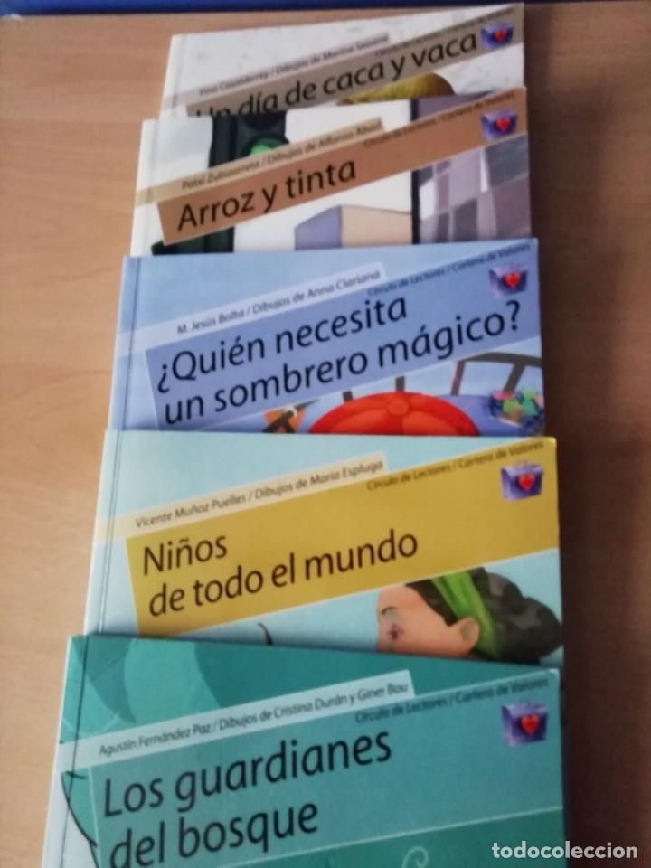 LIBROS DE VALORES EN CUENTO DE TEMAS ASUNTOS Y TIEMPOS ACTUALES. (Libros Antiguos, Raros y Curiosos - Literatura Infantil y Juvenil - Novela)