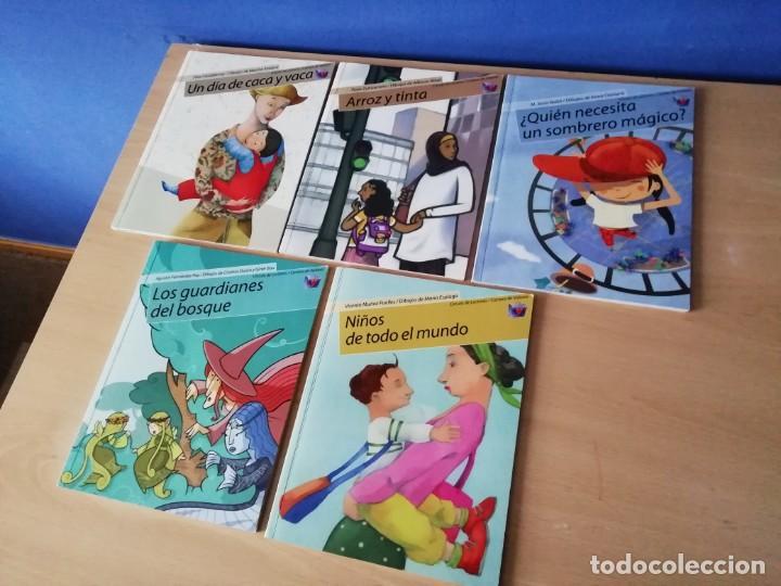 Libros antiguos: Libros de valores en cuento de temas asuntos y tiempos actuales. - Foto 2 - 168291352