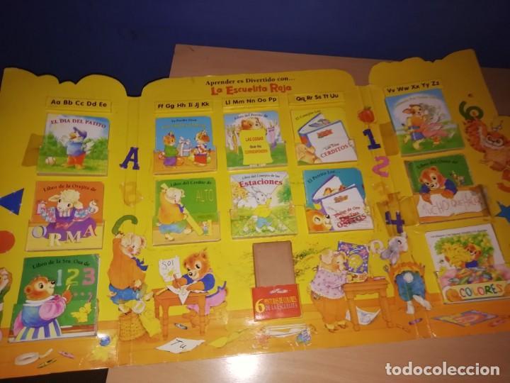 Libros antiguos: ESCUELA ROJA, Antiguo set de mini cuentos. Años 80-90 - Foto 5 - 168324704