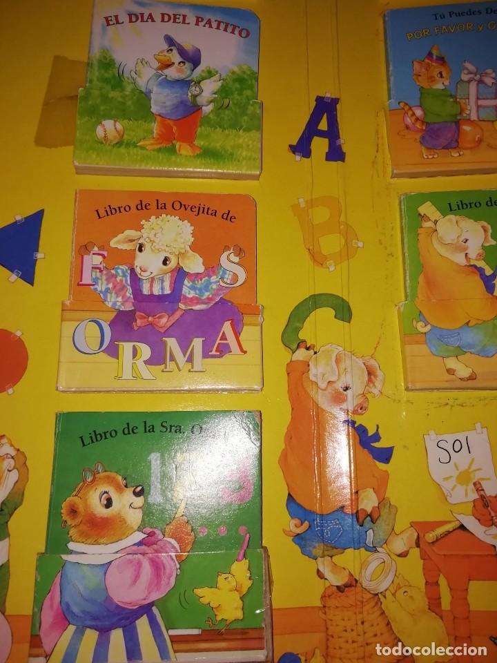 Libros antiguos: ESCUELA ROJA, Antiguo set de mini cuentos. Años 80-90 - Foto 6 - 168324704