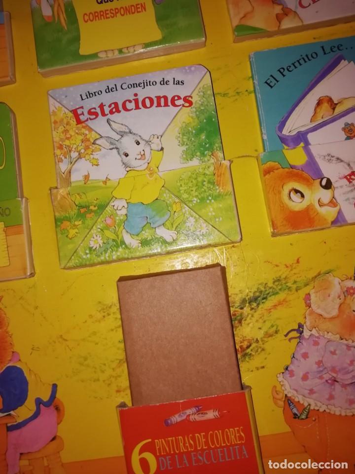 Libros antiguos: ESCUELA ROJA, Antiguo set de mini cuentos. Años 80-90 - Foto 7 - 168324704