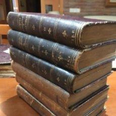Libros antiguos: NOVELAS CATALANAS Y EXTRANJERAS 1892/93/96/99/900/901. Lote 168328732