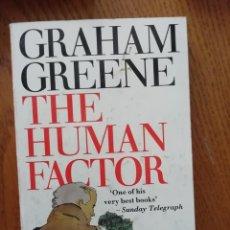Libros antiguos: EL FACTOR HUMANO NOVELA DE GRAHAM GREENE EN INGLES, . Lote 168479788