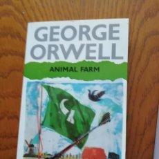 Libros antiguos: ANIMAL FARM DE GEORGE ORWELL (AUTHOR) NOVELA EN INGLES, . Lote 168547884